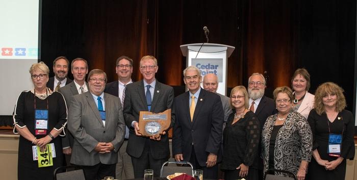 Paul Sherlock Award 2018 Recipient Larry Fletcher